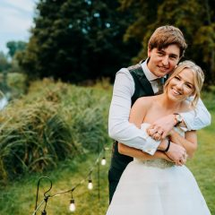 Megan and Luke - Houghton Lodge wedding