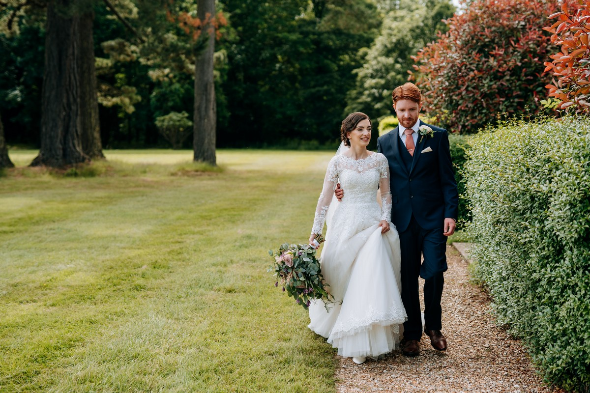 Hethfelton House wedding - Sophie and Chris