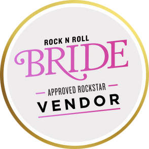 Featured photographer in Rock n Roll Bride printed magazine
